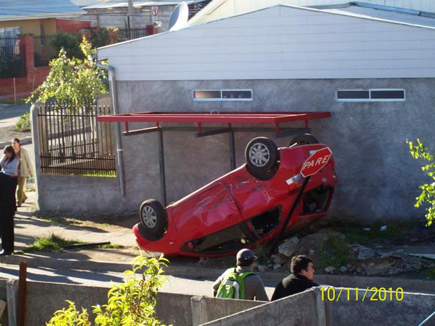 Accidente de tránsito en Los Ángeles   Alejandra Muñoz Quezada