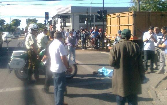 Atropello en Concepción / Omar Sanhueza