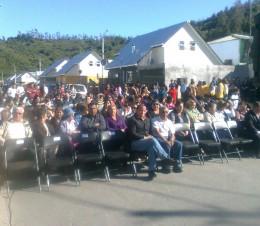 Ceremonia en Concepción