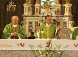 Celebración de misa