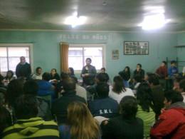 Reunión en Valdivia | Foto: José Aedo