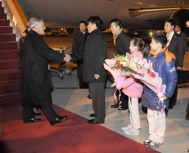 Presidente llega a China | fotopresidencia.cl