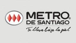 Logo de Metro de Santiago