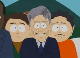 El supuesto Sebastián Piñera de South Park