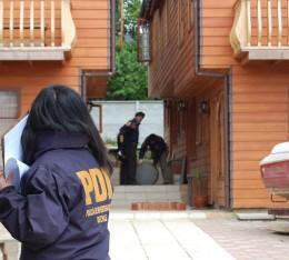 Pericias de la policía | Foto: PDI