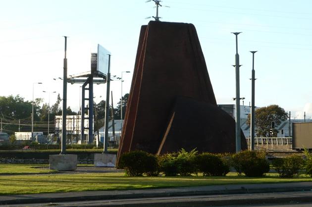 Publicidad en Escultura Mapuche