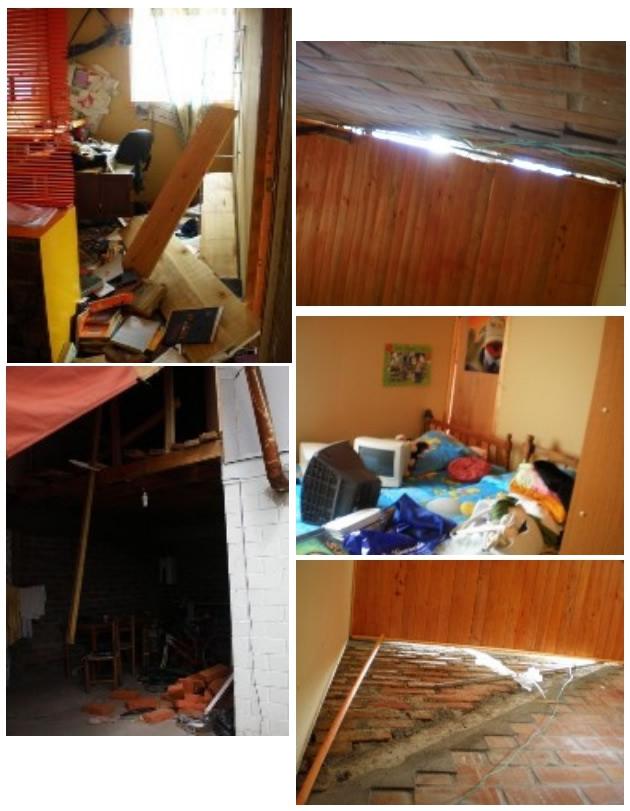 Daños en vivienda | Margarita Moscoso