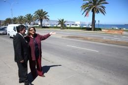 Retorno en sector Las Salinas