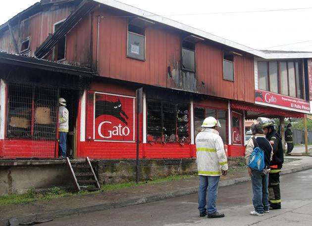 Supermercado destruido | ElDalcahuino.com