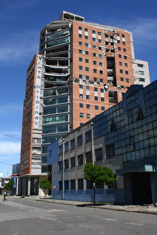 Curiosa publicidad de Torre O'Higgins en Concepción | Franco del Pino