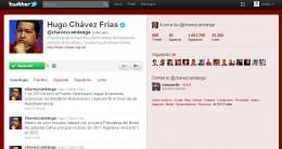 Hugo Chávez en Twitter