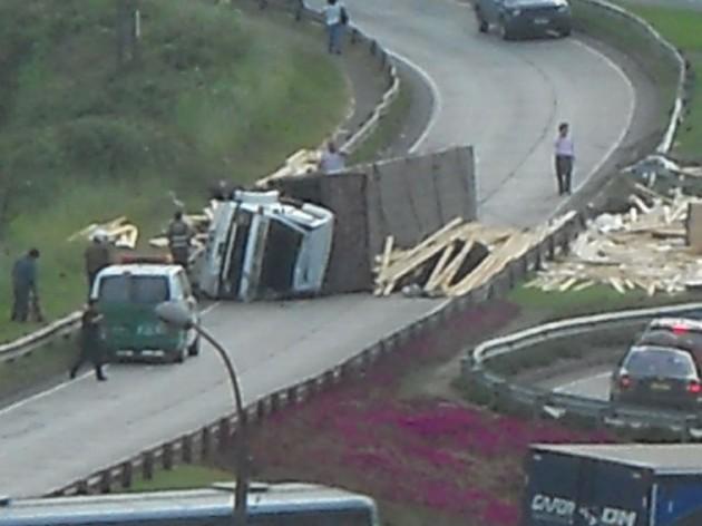 Accidente en Concepción / Andrés Acosta