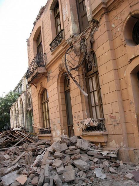 Terremoto en Santiago