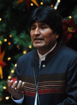 Evo Morales   Wikipedia (CC)