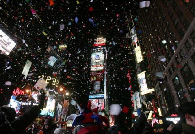 Año Nuevo en Times Square | Hiroko Masuike