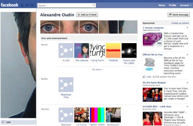 Alexandre Oudin en Facebook