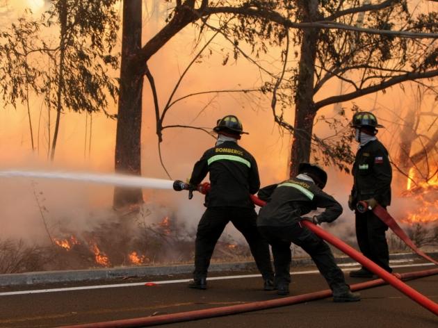 Alerta Roja en Quinta región | Emilio Mejias