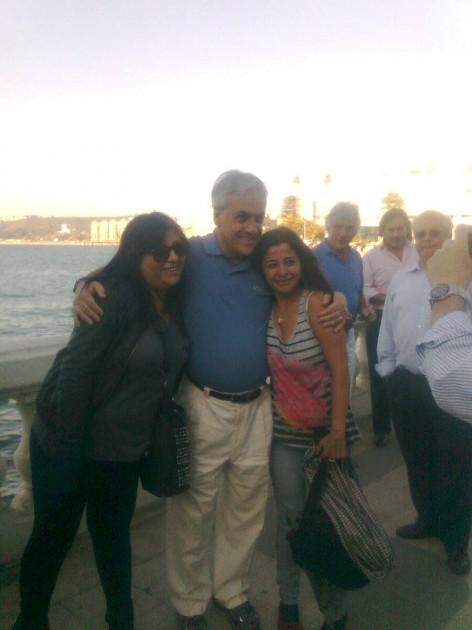 Presidente Piñera en Viña del Mar | Imagen: Francisco Ovalle