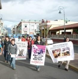 Protesta en Ecuador / animanaturalis.org
