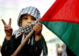 Niño palestino
