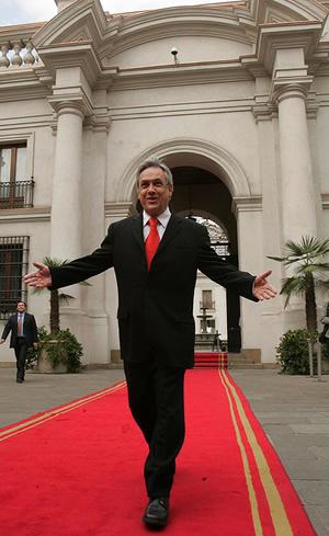 Sebastián Piñera en Flickr (CC)