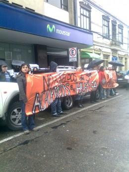 Protesta de profesores de la UACH | Carlos López