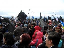 Protesta en Magallanes por alza de gas / Rodolfo Muñoz Mulatti - Kanis