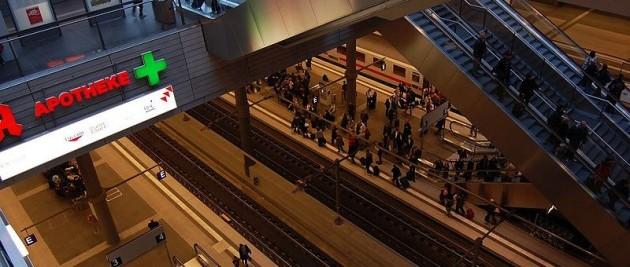 Estación de trenes de Berlín | Wikimedia Commons