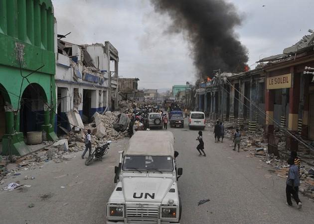 Haití tras el terremoto   Wikipedia