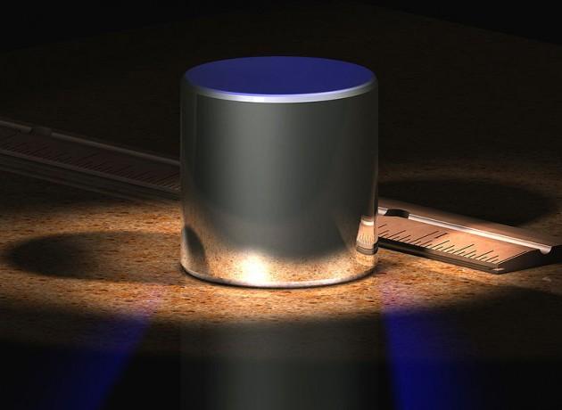 Así luce la pieza de platino | Wikipedia