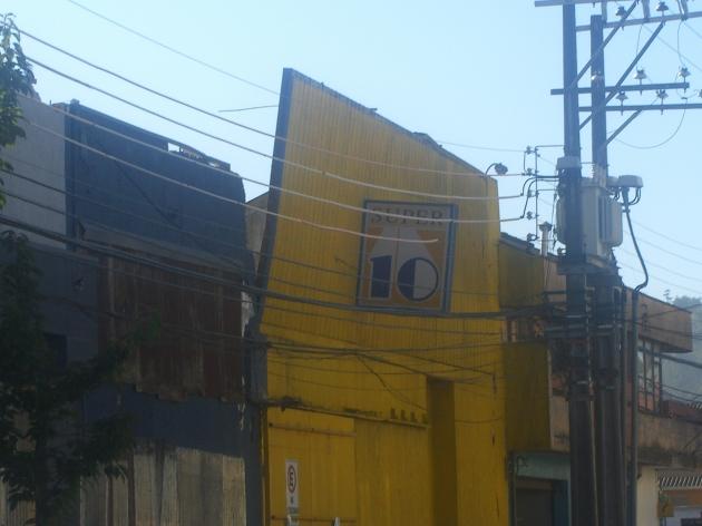 Estructura podría caer en Concepción / Daniel Escobar