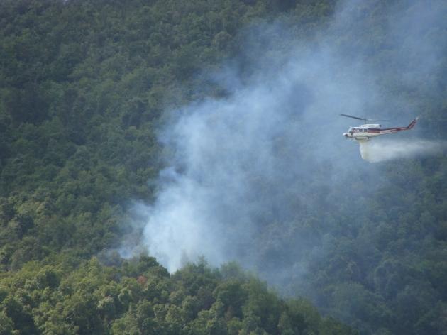 Incendio en Granizo, Olmué | Solange Alvarez