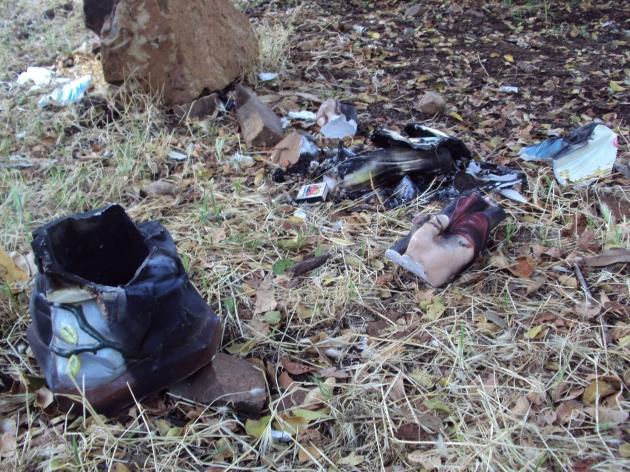 Desconocidos destruyen imagen de virgen en Quirihue | Israel Parra