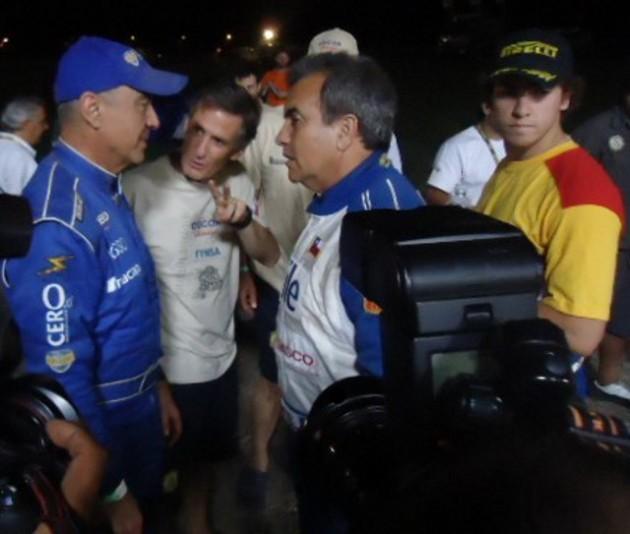 Eliseo Salazar, Jorge Latrach y Juan Pablo Latrach | Imagen : Hans Hott
