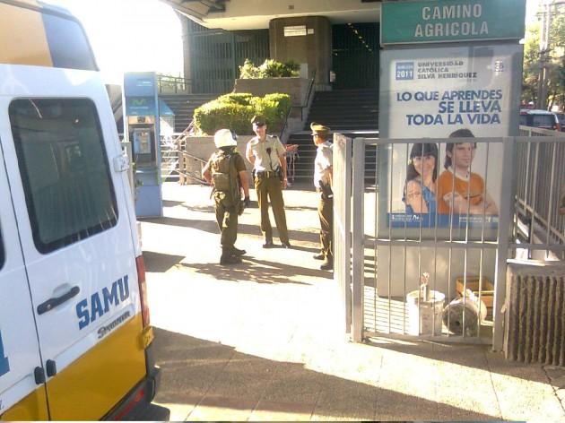 Accidente Metro | Rodrigo Pino