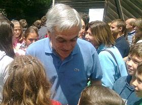 Piñera regresa esta tarde desde Futrono | Foto: Rodrigo Aguilera