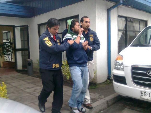 Detenido   Pedro Cid