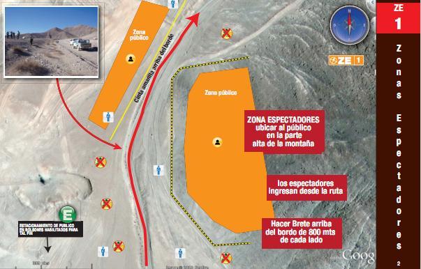 Mapa de espectadores en Iquique | dakar.com (Oficial)