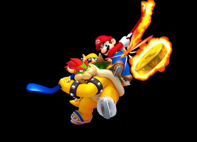 Mario versus Bowser