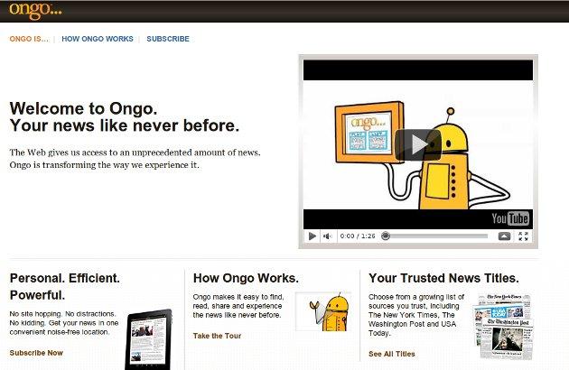 Ongo en la web