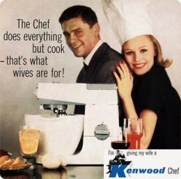 Publicidad de Kenwood