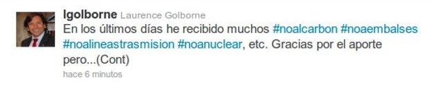 (1) Twitter Biministro Golborne