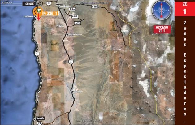 Mapa de espectadores en Alto Hospicio | dakar.com (Oficial)