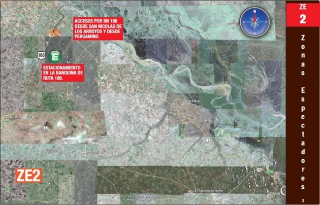 ZONA DE ESPECTADORES 2 : GENERAL ROJO