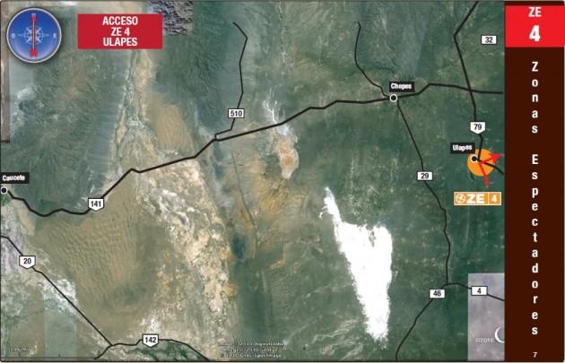 ZONA DE ESPECTADORES 4 : ULAPES (1°CAMIONES)