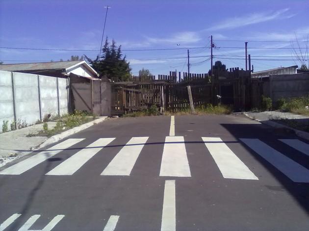 Calle en San Pedro de la Paz / Leonel Bascuñante