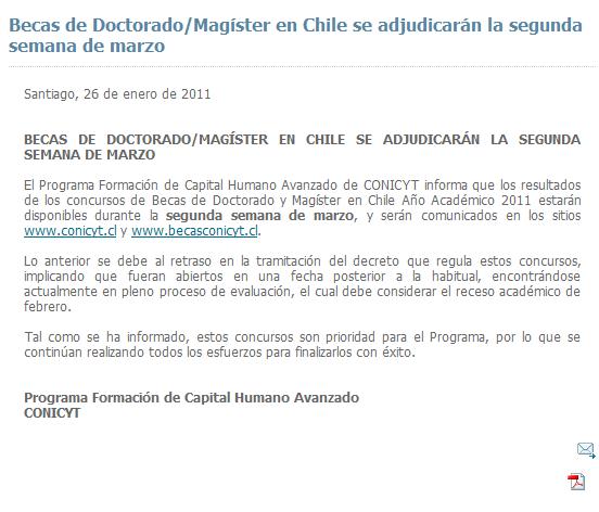 Una vez más Conicyt con irregularidades    Paola Cruz