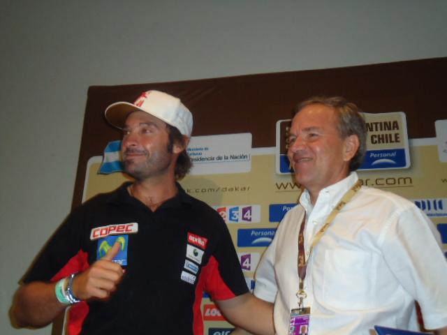 Francisco López y Gabriel Ruiz Tagle   Imagen: Hans Hott