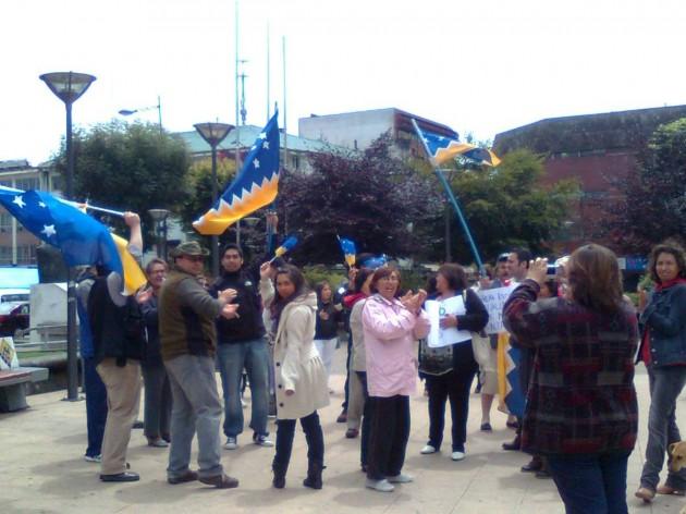 Manifestación en Puerto Montt | Foto: Sergio Osses