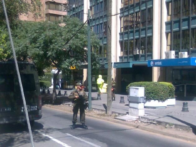 GOPE retira sobre sospechoso   Imagen de Rodrigo Pino